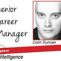 An Introduction To Our Senior Career Manager, Colin Duncan