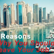 5 Reasons Why You Should Leave Your Job