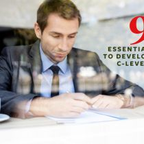 9 Essential Tips to Develop Your C-Level CV
