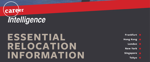 The Career Intelligence 'Essential Relocation Information' guide.