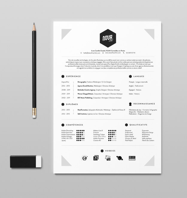 Use social media to showcase your creativity, such as with unique resume templates and designs.